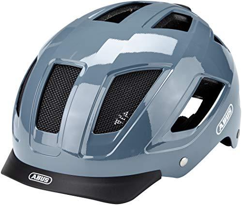 ABUS Hyban 2.0 Stadthelm - Robuster Fahrradhelm für den Alltag mit ABS-Hartschale - für Damen und Herren - 86930 - Hellblau, Größe L
