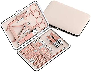 Nail Clippers Set Manicure Pedicure Kit - Manicure Set Women Professional Stainless Steel Pedicure Nail Clipper Tools + Co...