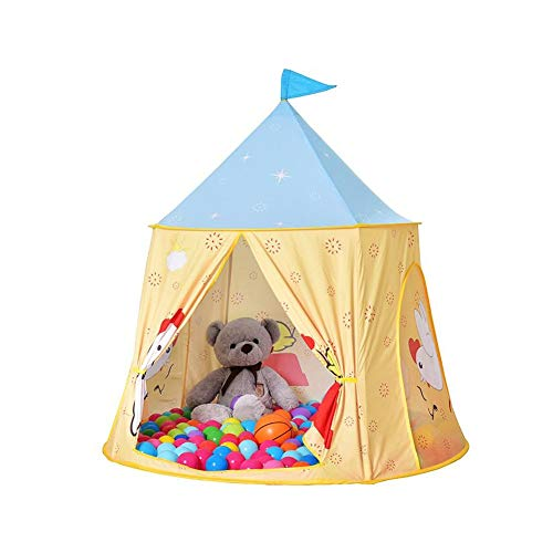 MUMA Kids Teepee Play Tent Children Wigwam Tipi Play House - Indoor Or Outdoor Portable Pop Up Tent, Best for Sleep Overs, Camping (Color : Tent)