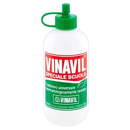 VINAVIL Vinavil Speciale Scuola Colla Vinilica priva di allergeni e dermatologicamente testata 100g Bianco