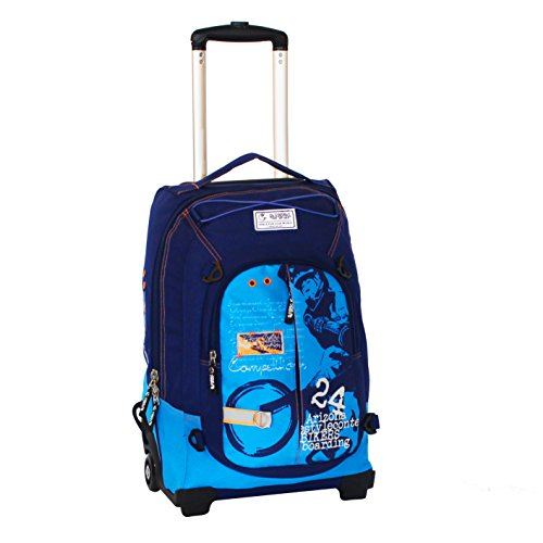 Spirit Spirit Biker Maleta 48 cm, 35 litros, Azul