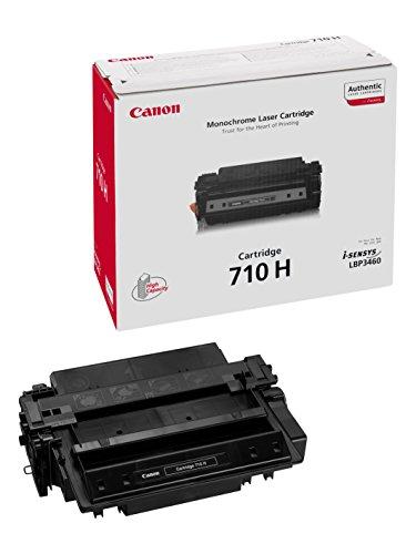 Canon cartucho 710H de tóner original negro para impresoras láser i-SENSYS LBP3460