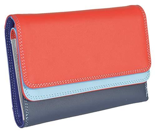 Mywalit Portemonnaie 5 Kartenetui mit Stift 250 Mehrfarbig königsblau S