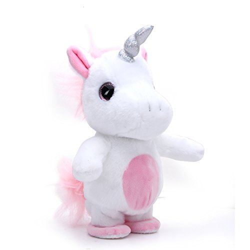 Woodyotime Moving and Talking Unicorn Toys Repeats What You Say Interactive...