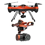 SwellPRO SplashDrone 3+ Waterproof Base Platform Waterproof 3-Axis 4K Gimbal Camera for SplashDrone 3 Series Drones
