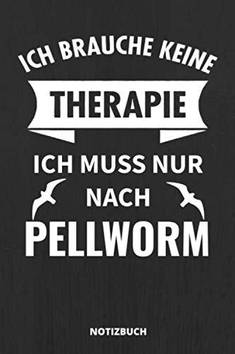 Notizbuch: Schönes Pellworm Notizbuch für alle Nordsee Insel-Urlauber - Lustiger Spruch - 110 linierte Seiten im praktischen A5 Taschenformat
