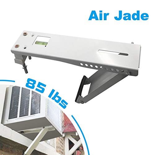 Air Jade Universal AC Window Air Conditioner Bracket, 85lbs, Designed 5,000 to 12,000 BTU Sized Small Unit, Light Duty Support Brackets (S)