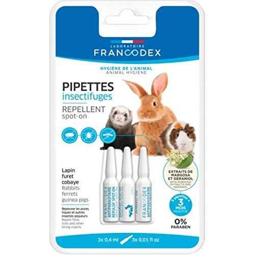 SpotOn de insectos gran animal peludo–Francodex