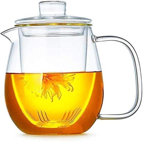 Teapot Cup Teapot Cup Glass Pitcher with Lid Ice Teapot Easy to Clean Easy to Pour Very Suitable for A Coffee Juice Outdoors with A Coffee Juice Outdoors for A Family Drink Tea Cup