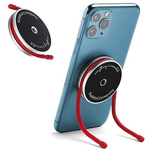 IMstick Universal-Handyhalterung, magnetisch, mit flexiblen Drähten, Freisprecheinrichtung, Steel