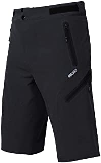 ARSUXEO Outdoor Sports Men's MTB Cycling Shorts Mountain Bike Shorts Water Resistant