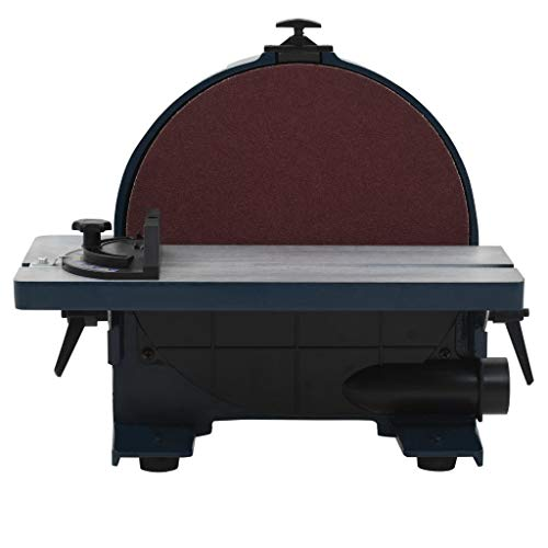 Vislone IP40 Lijadora de Disco Hierro Fundido de Hierro Fundido y Aluminio y Plástico 800W 305mm 230V 1450RMP Azul