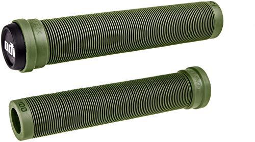 ODI SLX Soft BMX - Puños para patinete de 160 mm con barras + pegatina Fantic26 (oliva)