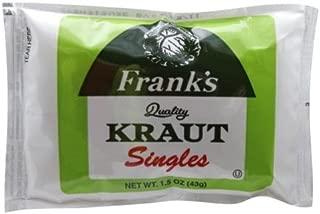 frank's kraut singles