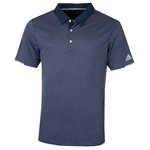 adidas Herren Climachill Core Hather Polo Shirt Poloshirt, Blau (Azul Navy Dt3593), Small