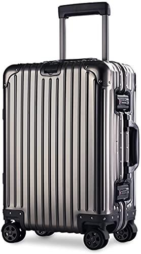 スーツケース アルミマグネシウム合金 キャリーバッグ ダブルキャスター・静音 キャリーケース TSAロック搭載 フレームタイプ ドイツ製カバー付き 軽量