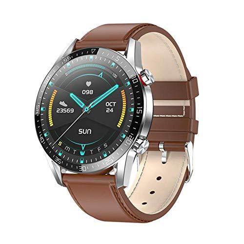 L13 Smart Watch Men's ECG + PPG Tarifa cardíaca IP68 Impermeable Bluetooth Llamada SmartWatch para Huawei Xiaomi Samsung iOS,C