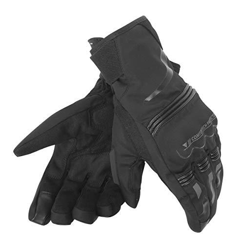 Dainese-TEMPEST UNISEX D-DRY SHORT Handschuhe, Schwarz/Schwarz, Größe L