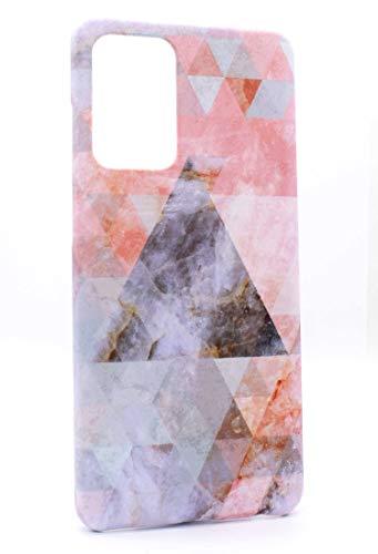 Mrwildstudio Funda para Samsung Galaxy A52 4G, diseño de mármol triangular, A52 5G