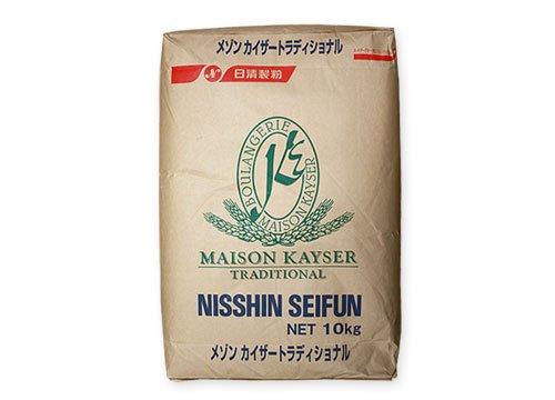 日清製粉 メゾンカイザートラディショナル フランスパン用 準強力粉 10kg 業務用