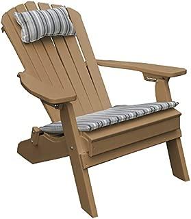 POLY Folding & Reclining Adirondack Chair - Cedar