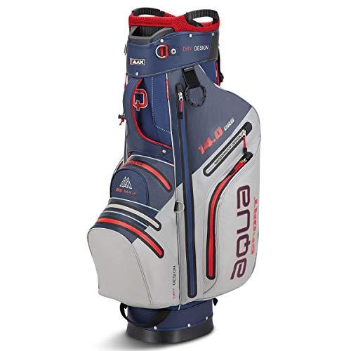 Big Max Golf Cartbag Aqua Sport 3 Navy-Silver-red