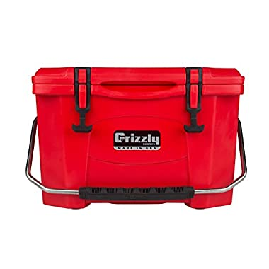 Grizzly 20 Quart Red/Cooler