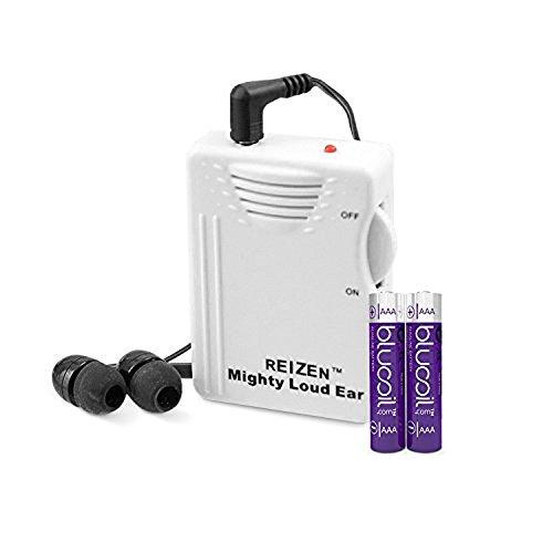 Reizen Mighty Loud Ear 120dB Personal Sound...