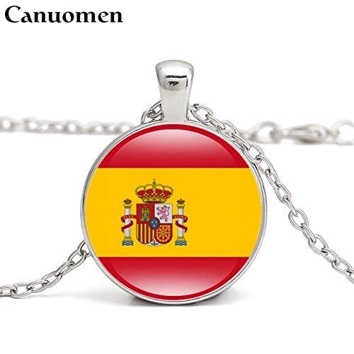 Collar Bandera España  marca DAVITU