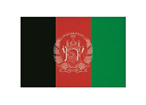 U24 Aufnäher Afghanistan Fahne Flagge Aufbügler Patch 9 x 6 cm