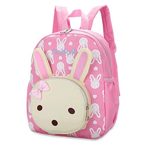 Witery - Zainetto a tracolla per bambini con motivo a cartoni animati, rosa (Rosa) - CLO47-01