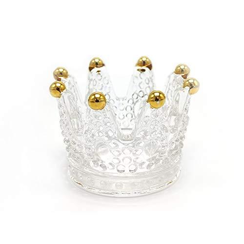 Soporte para anillos de corona, soporte para anillos de boda, pulseras, pendientes, collares, expositores, bandejas, cumpleaños, San Valentín para mujeres y niñas