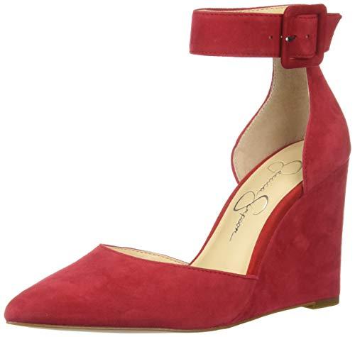 Jessica Simpson Moyra para mujer, rojo (Maraschino), 40 EU