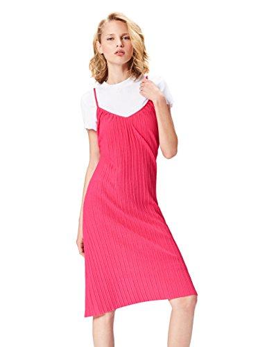 find. 70212 vestidos mujer, Rosa (Fushia), 36 (Talla del Fabricante: X-Small)