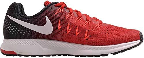 Nike Men's Air Zoom Pegasus 33, UNIVERSITY RED/WHITE-BLACK - 15 D(M) US