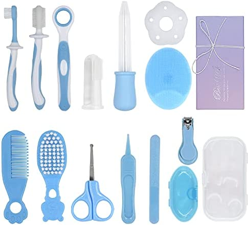 13 in 1 Baby Grooming Kit, Newborn Nursery Health...
