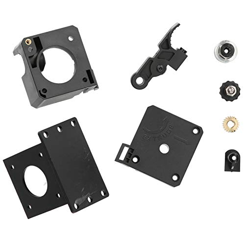 Extrude Kit Plastic Feeder Extruder Frame 3D Printer Accessories Replacement with Spring, 1.75mm/0.07in
