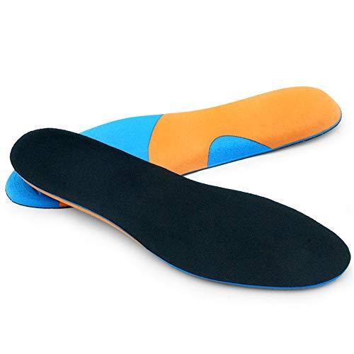NeoMcc Plantillas Deportivas Forro plástico Transpirable Cómodo Alto Elástico Eva Eva Rebote Lento Licoles Antideslizantes para Zapatos (Color : Multi-Colored, Size : 38-39)