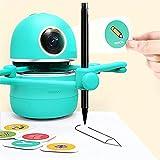 InLoveArts Artiste Robot Robot de griffonnage créatif Robot de Dessin Automatique Intelligent Comprend 4 Livres / 38 Cartes / 2 stylos Outils d'apprentissage des élèves adaptés aux crèches à Domicile