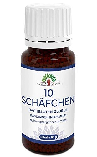 Adema Natural® 10 SCHÄFCHEN Globuli - Schlafen - Einschlafen - Durchschlafen - 10g Inhalt