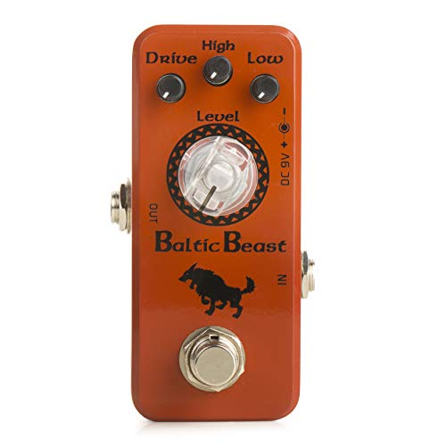 Movall by Caline MP-308 Baltic Beast Mini Overdrive Guitar Effects Pedal