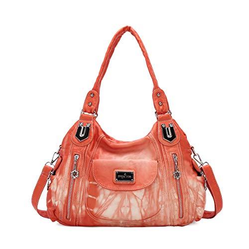 Handbag Hobo Women Handbag Roomy Multiple Pockets Street ladies' Shoulder...