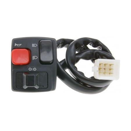2extreme Schaltereinheit Links Blinker Kompatibel Für Derbi Senda Aprilia Rx Sx 50 Auto