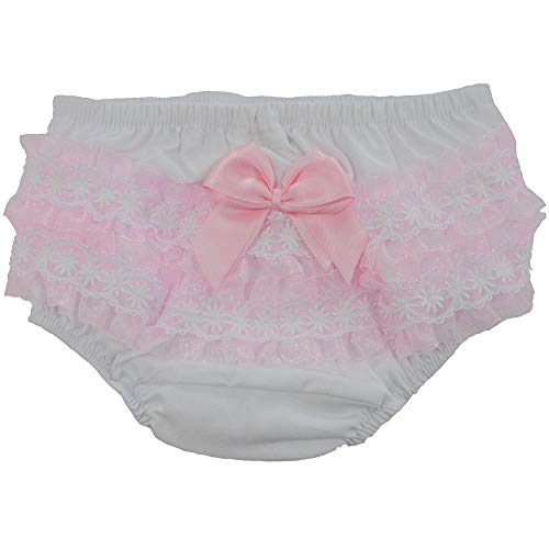 Repuhand 4 Pack Girls Panties Kids Cotton Knickers Cosy Breathable Baby for Toddlers Bow-Knot Panties