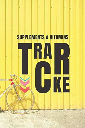 Supplements & Vitamins Tracker: Vitamin Log Medication Tracker