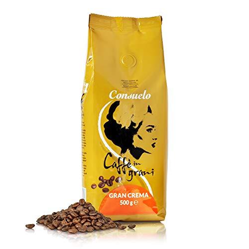 Consuelo Italienischer Caffè Gran Crema - ganze Bohnen, 500 g