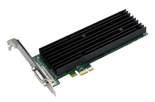 PNY Quadro NVS 290 LP Grafikkarte PCI e 256MB DDR2 Speicher Dual VGADVI 1 GPU