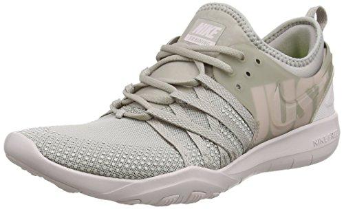 Nike Wmns Free TR 7 Premium, Scarpe da Fitness Donna, Grigio (Moon Particle/Granada Viola/Barely Rosa 200), 38 EU