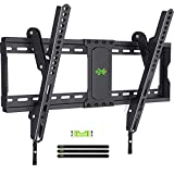 USX MOUNT TV Mount Tilting Brackets for Most 37'-70' Flat Screen TVs, Wall Mount TV Bracket with Max VESA 600x400mm, Weight Capacity 132lbs, Low Profile Space Saving for 16', 24' Stud