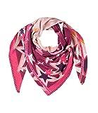 Lieblingsstück Dreieck Schal VALERIEL Sterne Allover Druck Muster rosa